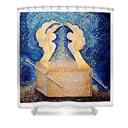Ark Of The Covenant  Shower Curtain by Alisa Poplavskaya