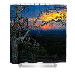 Arkansas Sunset II Shower Curtain by John Roberts