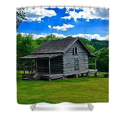 Arkansas Travels Shower Curtain