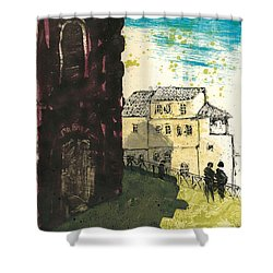 Arles Near Arena Provence Shower Curtain
