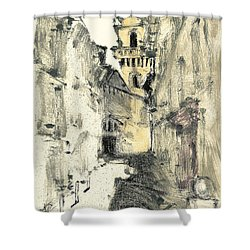 Arles Provence Shower Curtain