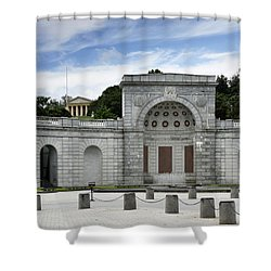 Arlington National Cemetery Shower Curtain by Brendan Reals