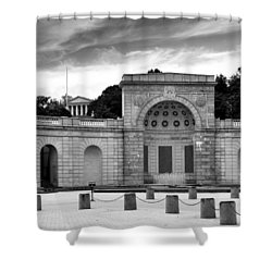 Arlington National Cemetery Women In Military Service For America Memorial Shower Curtain