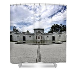Arlington National Cemetery - Women In Military Service To America Memorial Shower Curtain
