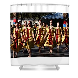 Armenian Dancers 1 Shower Curtain