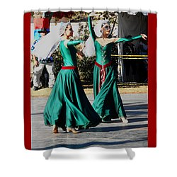 Armenian Dancers 10 Shower Curtain