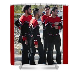 Armenian Dancers 12 Shower Curtain