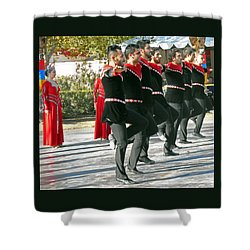 Armenian Dancers 13 Shower Curtain
