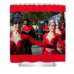 Armenian Dancers 14 Shower Curtain