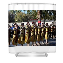 Armenian Dancers 2 Shower Curtain