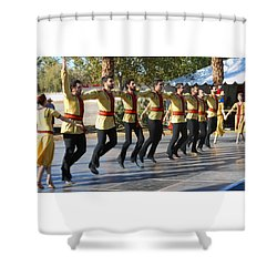 Armenian Dancers 3 Shower Curtain