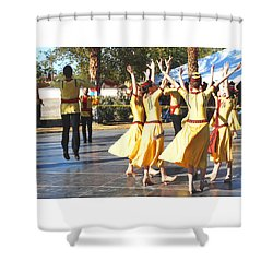 Armenian Dancers 4 Shower Curtain