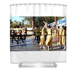 Armenian Dancers 5 Shower Curtain
