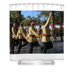 Armenian Dancers 6 Shower Curtain