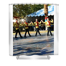 Armenian Dancers 7 Shower Curtain