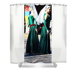 Armenian Dancers 8 Shower Curtain