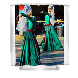 Armenian Dancers 9 Shower Curtain