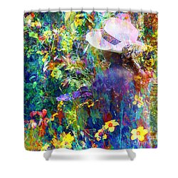 Shower Curtain featuring the photograph Aromatherapy by LemonArt Photography