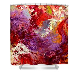 Aromatic Mixtures Shower Curtain