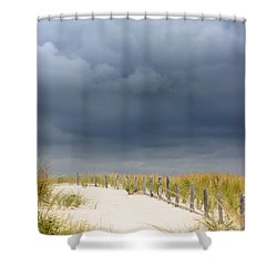Shower Curtain featuring the photograph Around The Bend by Dana DiPasquale