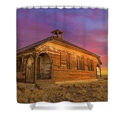 Aroya Sunrise Shower Curtain