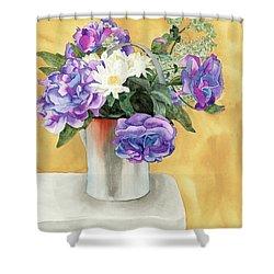 Arrangement Shower Curtain by Ken Powers