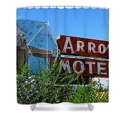 Arrow Motel Shower Curtain