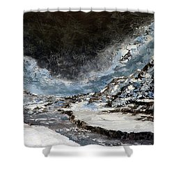 Arroyo Pass Shower Curtain