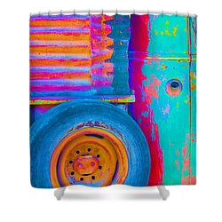 Arroyo Seco Truck 2 Shower Curtain
