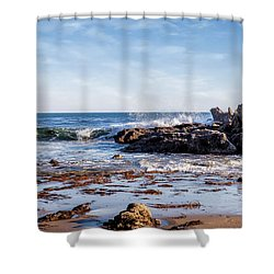 Arroyo Sequit Creek Surf Riders Shower Curtain