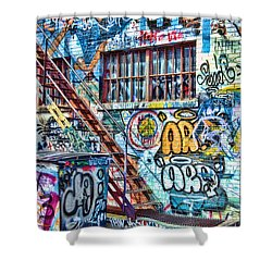 Art Alley 2 Shower Curtain