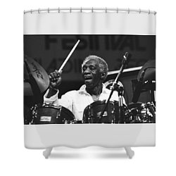 Art Blakey Shower Curtain