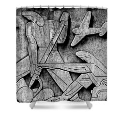 Art Deco 7 Shower Curtain by Andrew Fare