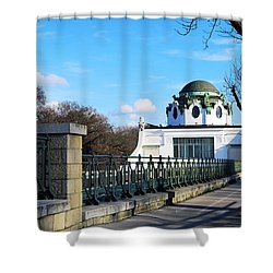 Art Deco Pavillon Shower Curtain