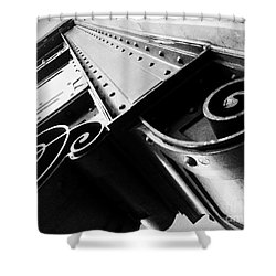 Art Deco Steel Shower Curtain