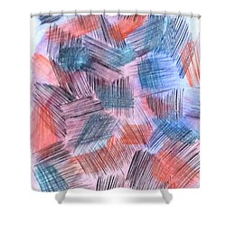 Art Doodle No. 23 Shower Curtain