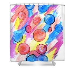 Art Doodle No. 25 Shower Curtain