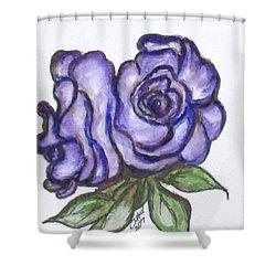 Art Doodle No. 26 Shower Curtain