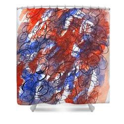 Art Doodle No. 28 Shower Curtain