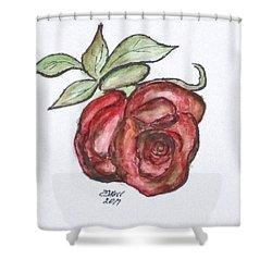 Art Doodle No. 29 Shower Curtain