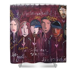 Art From Ashes 2010 Shower Curtain