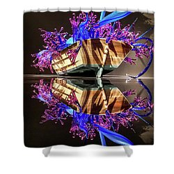 Art Glass Reflection By Chihuly Shower Curtain