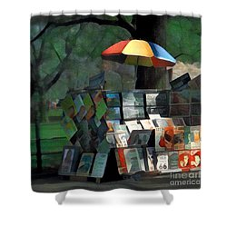 Art In The Park - Central Park New York Shower Curtain