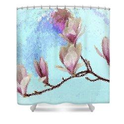 Art Magnolia Shower Curtain