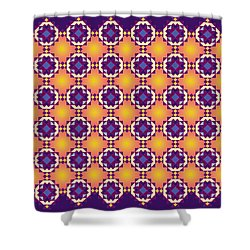 Art Matrix 001 A Shower Curtain