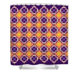 Art Matrix 001 A Shower Curtain