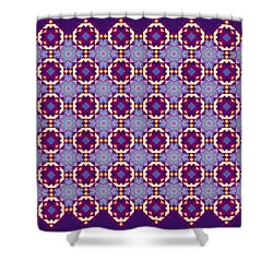 Art Matrix 001 B Shower Curtain by Larry Capra