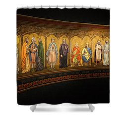 Shower Curtain featuring the photograph Art Mural by Jeremy Lavender Photography