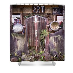Art Nature Shower Curtain