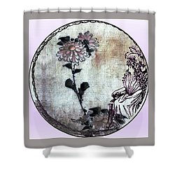Art Nouveau Woman  Shower Curtain
